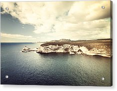Acrylic Print featuring the photograph Corsica Winter by Philippe Sainte-Laudy