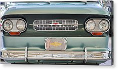 Chevrolet Corvaire95 Truck Grill Acrylic Print
