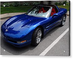 Corvette By Chevrolet At Fifty Acrylic Print