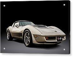 Corvette C3 Acrylic Print by Douglas Pittman
