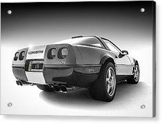 Corvette C4 Acrylic Print by Douglas Pittman