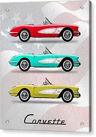 Corvette Collection Acrylic Print