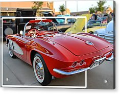 Acrylic Print featuring the photograph Corvette Cool by Dyle   Warren