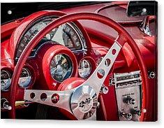 Corvette Dash Acrylic Print