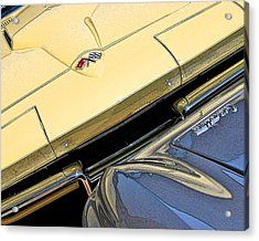 Acrylic Print featuring the photograph Corvette Edges by Christopher McKenzie