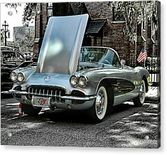 Acrylic Print featuring the photograph Corvette by Victor Montgomery