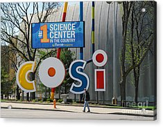 D7l-80 Cosi Columbus Photo Acrylic Print
