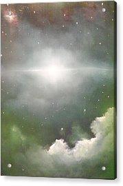 Cosmic Blast Acrylic Print by Ricky Haug