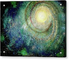 Cosmic Breath Acrylic Print by NARI - Mother Earth Spirit