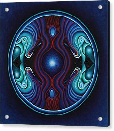 Cosmic Conception Acrylic Print by Erik Grind