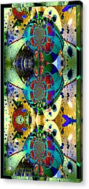 Acrylic Print featuring the photograph Cosmic Cuckoo Clock by Robert Kernodle