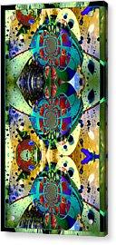 Cosmic Cuckoo Clock Acrylic Print by Robert Kernodle