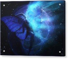 Cosmic Dance Of Joy Acrylic Print by Gun Legler