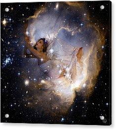 Cosmic Dream Acrylic Print by Gun Legler