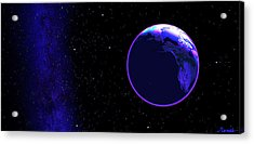 Cosmic Embrace #1 Acrylic Print by Renee Anderson