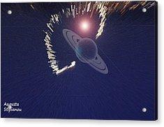 Cosmic Event Acrylic Print by Augusta Stylianou