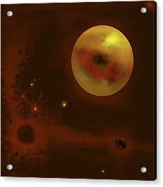 Cosmic Eye Acrylic Print