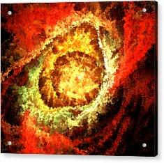 Cosmic Flares Acrylic Print by Lourry Legarde