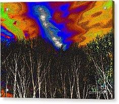 Cosmic Forces Acrylic Print