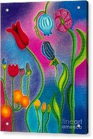 Cosmic Gargen Acrylic Print