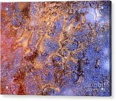 Cosmic Ice Acrylic Print by Fred  Sheridan