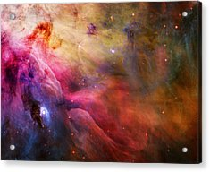 Cosmic Orion Nebula Acrylic Print by Celestial Images