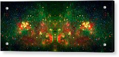 Cosmic Reflection 1 Acrylic Print by Jennifer Rondinelli Reilly - Fine Art Photography