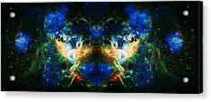 Cosmic Reflection 2 Acrylic Print by Jennifer Rondinelli Reilly - Fine Art Photography
