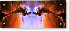 Cosmic Release Acrylic Print by Jennifer Rondinelli Reilly - Fine Art Photography