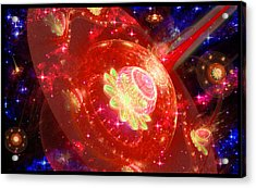 Cosmic Space Station 2 Acrylic Print