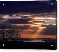 Cosmic Spotlight On Shannon Airport Acrylic Print