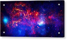 Cosmic Storm In The Milky Way Acrylic Print