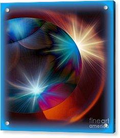 Cosmo Blue Acrylic Print