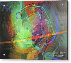 Cosmos #7 Acrylic Print by Dov Lederberg