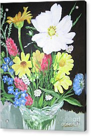 Cosmos And Her Wild Friends Acrylic Print