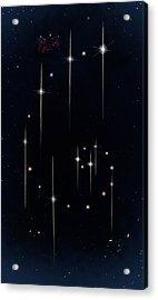 Cosmos - Art Of The Science Tarot Acrylic Print