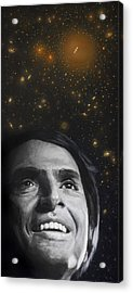 Cosmos- Carl Sagan Acrylic Print