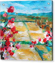 Cosmos In The Field 2 Acrylic Print