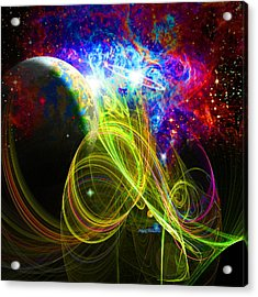 Cosmos New Frontier Acrylic Print by Nate Owens