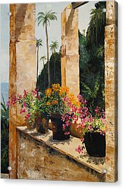Costa Rica Floral Acrylic Print