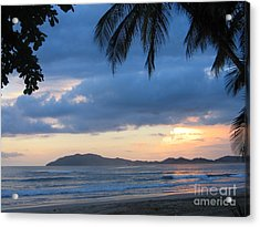 Acrylic Print featuring the photograph Costa Rica Sunset by Shelia Kempf