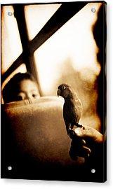 Costa Rican Bird Boy Acrylic Print