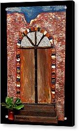 Costa Rican Doorway Acrylic Print