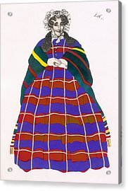 Costume Design For Madame Loenfowitch Acrylic Print