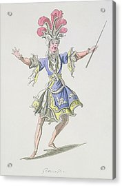 Costume Design For The Magician Acrylic Print by French School