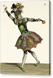 Costume For A Demon In Armide, Psyche Acrylic Print