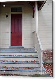 Cozy Cottage Door Acrylic Print