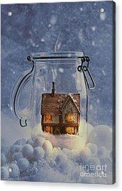 Cosy Home Acrylic Print by Amanda Elwell