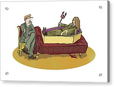 Cotard Syndrome, Conceptual Artwork Acrylic Print by Science Photo Library