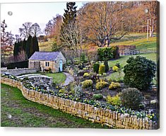 Cotswold Cottage Acrylic Print